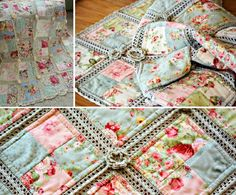 Fabric Crochet Quilt The WHOot