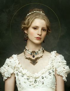 Zhang Jingna's Photographs of Fairytale-esque Beauties | Hi-Fructose Magazine.....Saintly Woman