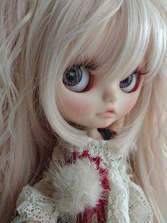 *ayudoll blythe custom*「Happy winter♪」カスタムブライス_画像3 Pretty Dolls, Cute Dolls, Blythe Dolls, Barbie Dolls, Amazing Dp, Smart Doll, Doll Hair, Crochet For Kids, Big Eyes