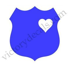 Police Wife / Family Vinyl Decal by VictoryDecals on Etsy, $3.00