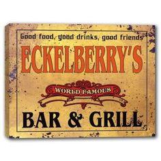 ECKELBERRY'S World Famous Bar & Grill Canvas Sign J Edgar... https://www.amazon.com/dp/B01K3RHPHA/ref=cm_sw_r_pi_dp_x_uOUWybR2W3BWF