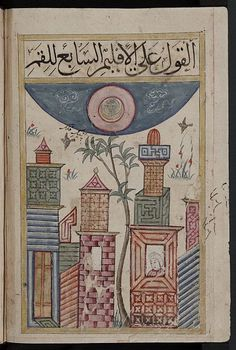 The Kitab al-Bulhan, or Book of Wonders, is an Arabic manuscript dating mainly from the late 14thC and probably bound in Baghdad during the reign of Jalayirid Sultan Ahmad (1382-1410). The manuscript is made up of astrological, astronomical and geomantic texts compiled by Abd al-Hasan Al-Isfahani, as well as a dedicated section of full-page illustrations.