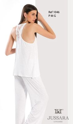 Pijama feminino Bordados Jussara 1046