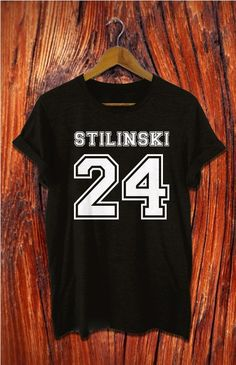 beacon hills lacrosse shirt stilinski shirt black by Alyssioshop