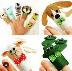En güzel parmak kuklaları ☝️