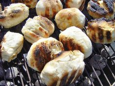 A traditionally South African bread cooked over low coals to accompany a braai (barbeque)!