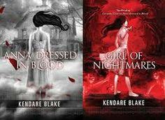 Anna Dressed in Blood series so far