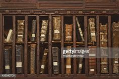 Stock Photo : Ancient library