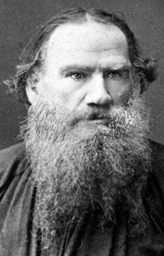 Leo Tolstoy - Lev Nikolayevich Tolstoi, (Yasnaya Polyana, 9 de setembro de 1828 — Astapovo, 20 de novembro de 1910) escritor russo. na velhice tornou-se um pacifista, cujos textos e ideias contrastavam com as igrejas e governos, pregando uma vida simples e em proximidade à natureza. Junto a Dostoiévski, Turgueniev, Gorki e Tchecov, foi um dos grandes mestres da literatura russa do século XIX. Suas obras mais famosas são Guerra e Paz, sobre as campanhas de Napoleão na Rússia, e Anna Karenina,