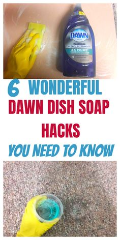 This will show 6 awesome dawn dish soap household hacks Natural Cleaning Recipes, Homemade Cleaning Products, Natural Cleaning Products, House Cleaning Checklist, Household Cleaning Tips, Cleaning Hacks, Dawn Cleaner, Bleach Alternative, Cleaning Cabinets