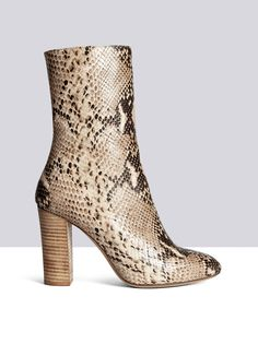 Medusa - Ankle boots in Taupe leather by Ted&Muffy US