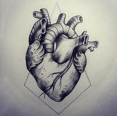 Tattoo Artist Miss Sita done at Oneonine Tattoo Barcelona   Anatomical heart
