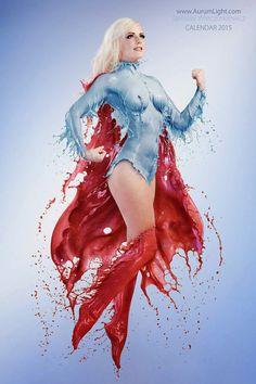 Cosplay: Super Heroínas com trajes a tinta! - Actions & Comics