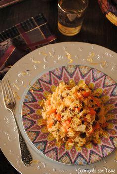 """Cocinando con Neus: Arroz estilo marroquí """"arroces del mundo"""" y de nuevo Directas al grano"""