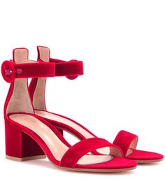 mytheresa.com - Velvet sandals - Luxury Fashion for Women / Designer clothing, shoes, bags