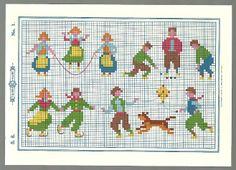 Sentimental Baby: Free Children's Vintage Cross Stitch Patterns