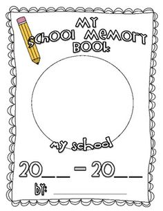 Use this cute little memory book to help your students celebrate the end of the school year!