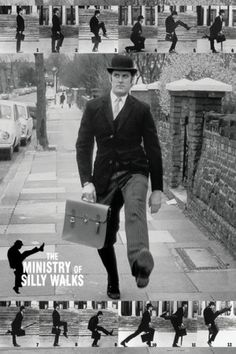 Monty Python - The Ministry of Silly Walks Posters - bij AllPosters.be.  Love this bit!