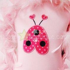Girls Valentine's Personalized applique by RagstoRichesMonogram $26.25