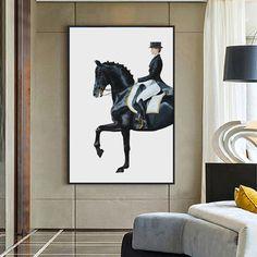 Painting Prints, Wall Art Prints, Poster Prints, Canvas Prints, Wall Canvas, Spray Painting, Figure Painting, Canvas Art, Horse Canvas Painting