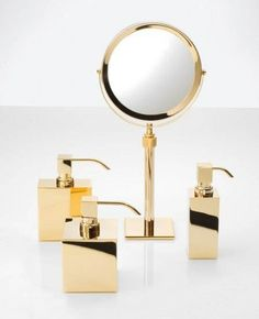 The SP 15 Cosmetic Mirror Cosmetic Has Been Designed And Made By Decor  Walther. With · Gold Bathroom AccessoriesDecorative ...