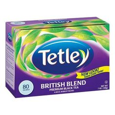 One of our best selling teas, British Blend combines premium Kenyan and Assam teas to deliver a richer, full-bodied blend with superior tea flavor, body and color. An 8 ounce cup of British blend provides 195 mg of naturally occurring flavonoids.