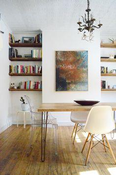 Shelves & table legs