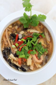Hot and Sour Soup | China Sichuan Food