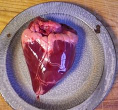 If you've never eaten heart you are missing out. Here is a recipe for pickled venison heart from one of my friends on Twitter.