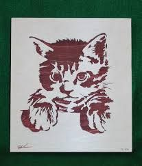 Image result for scroll saw cat