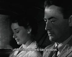 Audrey Hepburn and Gregory Peck in Roman Holiday