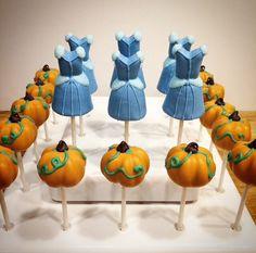 Super Baked Goods I Cinderella Cake Pops