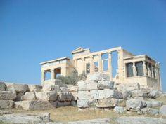 The Erechtheion - Athens Greece on our honeymoon