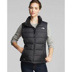0d838d861d3a The North Face® Vest - Nuptse 2 found on Polyvore North Face Vest