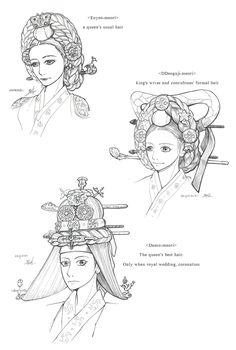 Hanbok, A Queen's Hair by Glimja on DeviantArt