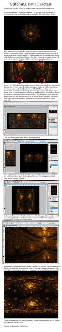"""Apophysis Tutorials & Resources from DeviantArt friends"" by Fiery-Fire 