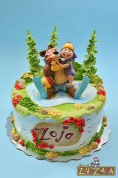 Masha and the bear cake by Nasa Mala Zavrzlama