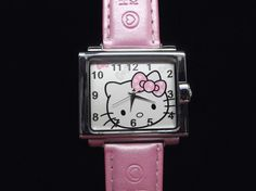 '***Pearl Pink Hello Kitty Watch ' is going up for auction at 11am Fri, Sep 7 with a starting bid of $5.