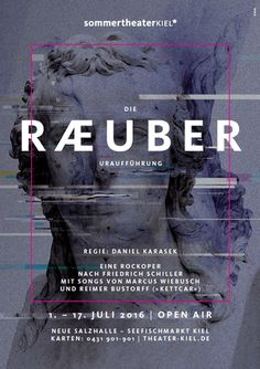 """Open-Air-Sommertheater 2016: """"Die Räuber«"""" mit dem Theater Kiel auf dem Seefischmarkt"""