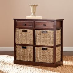 Shop for Harper Blvd Killeen 4-basket Storage Chest. Get free shipping at Overstock.com - Your Online Furniture Outlet Store! Get 5% in rewards with Club O! - 17310382