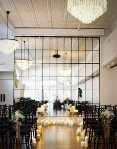 MAKE MIRRORS OUT OF OLD WINDOWS PUT TOGETHER  END OF A WALL AWESOMEgreat wedding space