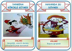 Deyimler  ( eğitimhane iskender07 öğretmenimizin çalışmasıdır ) Turkish Language, Science, Baseball Cards, Education, Poster, Onderwijs, Learning, Billboard