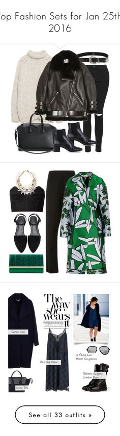 """Top Fashion Sets for Jan 25th, 2016"" by polyvore ❤ liked on Polyvore featuring Topshop, B-Low the Belt, Zara, Acne Studios, Givenchy, Isabel Marant, women's clothing, women's fashion, women and female"
