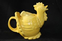 redwing teapots | Red-wing 257 yellow chicken teapot | Red Wing Collectors Society | Red ...