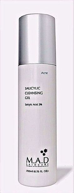 Acne Salicylic Cleansing Gel by M.A.D. Skin Care #MADSkinCare