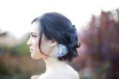 Google Image Result for http://wedding-pictures.onewed.com/match/images/48921/loose-bridal-updo-low-chignon-flower-wedding-hair-accessory.or...