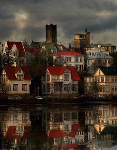 Reykjavík, Iceland / by verrir Thorolfsson via Flickr great shot