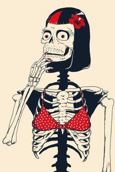 Image result for cute  Skull skeleton