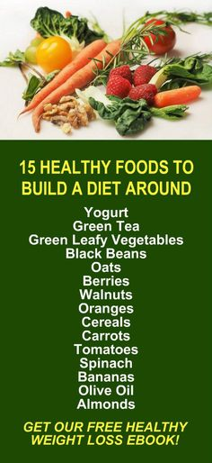 15 Healthy Foods To Build A Diet Around. Get our FREE weight loss eBook with suggested fitness plan, food diary, and exercise tracker. Learn about Zija's alkaline rich, antioxidant loaded, weight loss products that help your body detox, cleanse, increase energy, burn fat, and lose weight more efficiently. Look and feel your best with Zija! LEARN MORE #Healthy #Diet #WeightLoss #FatBurning #Foods #Fruits #Vegetables