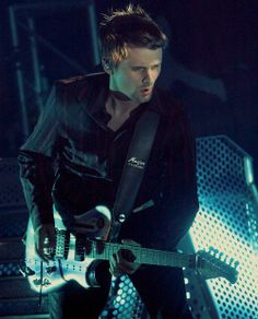 Matthew Bellamy <3 His music has gotten me through some of the roughest times in my life.